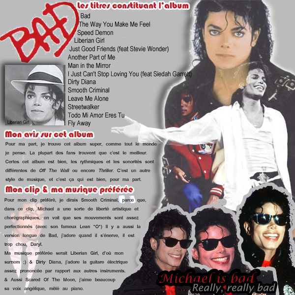 || Album Bad.« Smile, though your heart is aching »Michael Jackson, Smile, HIStory, l995