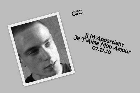 ♥♥ Mon Amoureux ♥♥ CSC