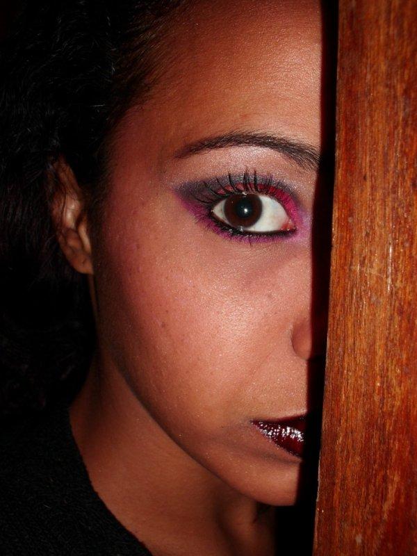 Nouveau make up réalisé par mes soins