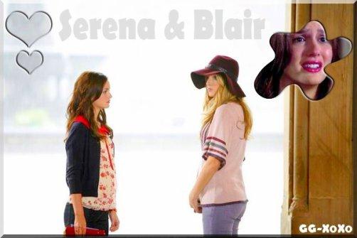 Une scène qui m'a bcp touchée entre Serena & Blair