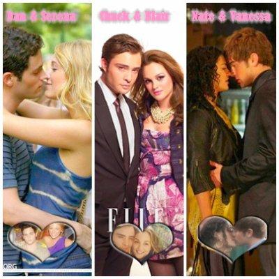 Mon top 3 de mes couples préférés