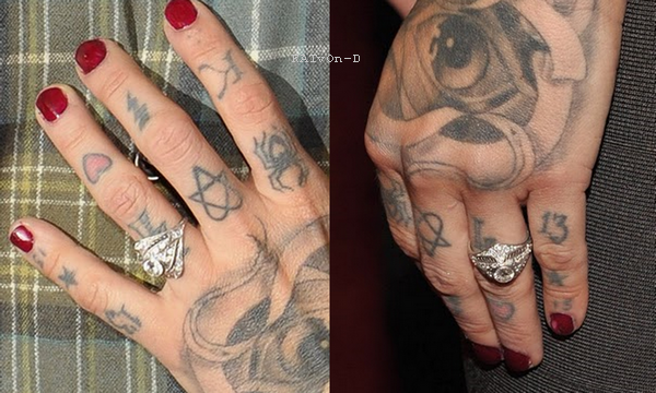 Kat Von D & Jesse sont fiancés