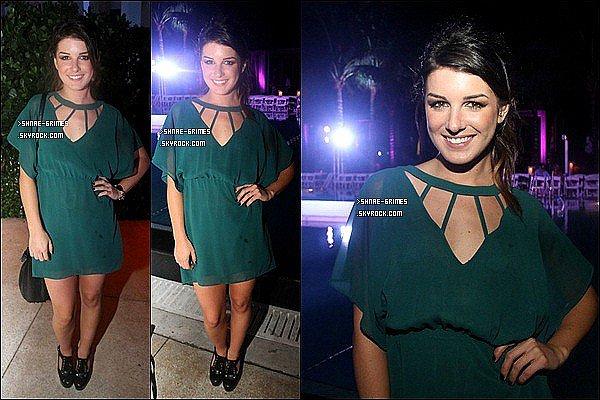 Posté le 27 Juillet 2012 : Shenae était à Angela Martini Fashion Show