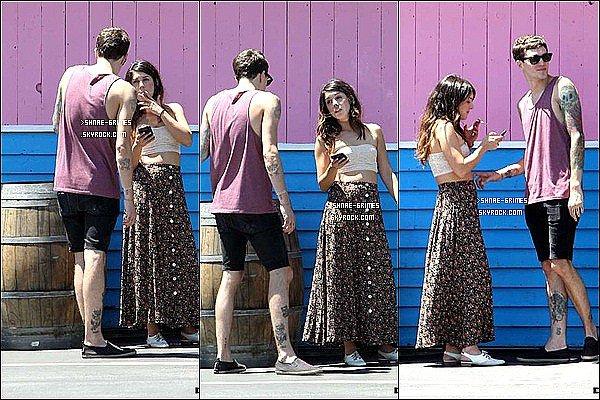 Posté le 27 Juillet 2012 : Shenae avec son boyfriend making out