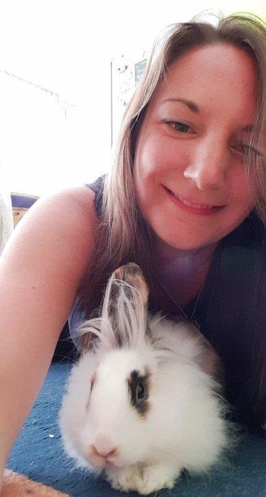 Photo de moi et de miss happy