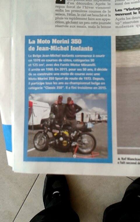 Dans la vie de la moto.....