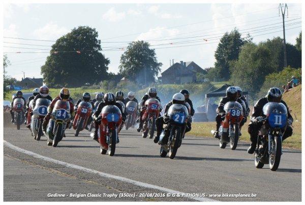 départ 350cc Gedinne 2016