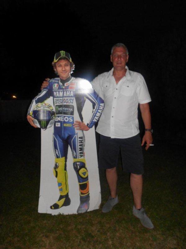Avec Rossi