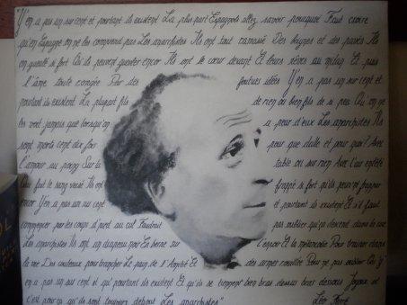 Léo Ferré (acrylique sur toile)
