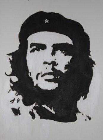 Che Guevara (acrylique)