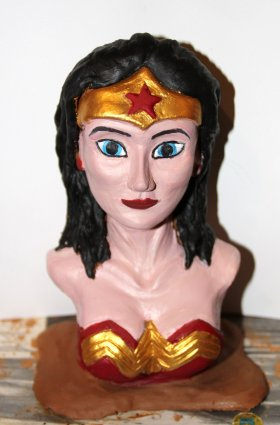 Wonder women (argile)