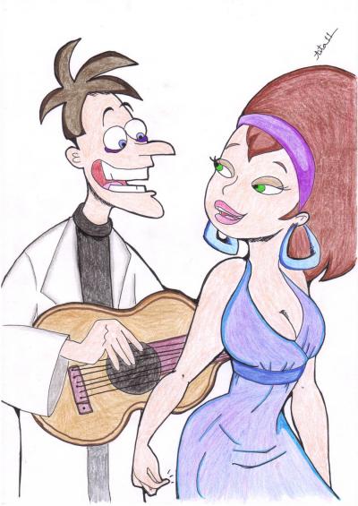Disney Channel / Phineas et Ferb francais - Doofenshmirtz - l'amour mauvais (2011)