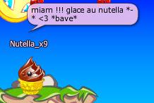 Glace au Nutella *-*