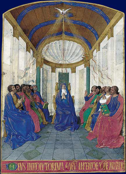 La Pentecôte                                                         Magnifique fin de journée à vous tous <3