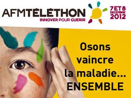 Téléthon du 7  et 8 décembre 2012