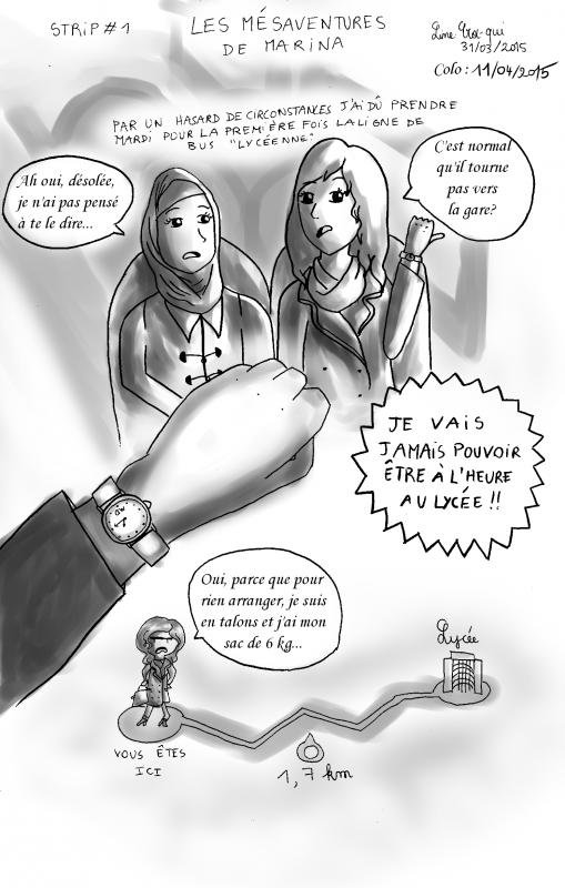 Avril - First STRIP!