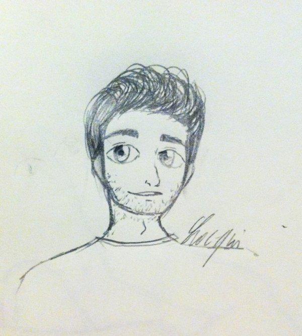 Avril - Visage masculin