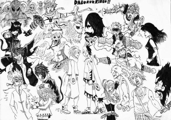 DABURU X KINGU !!