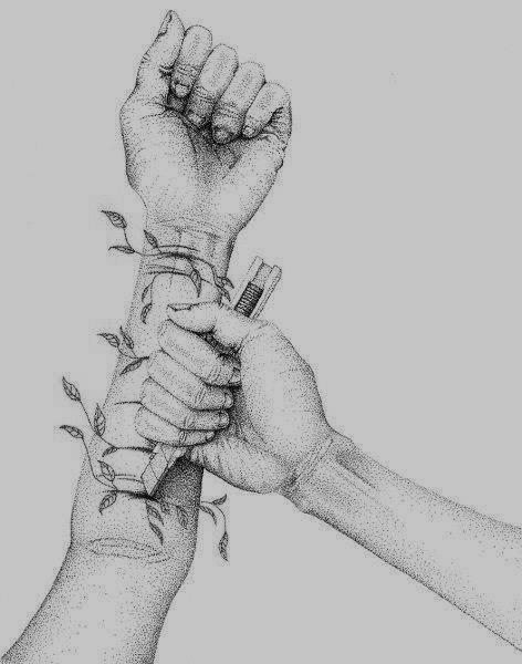 """""""Je n'ai jamais cru que le suicide était un appel a l'aide. Parfois on a pas envie d'être aider, ou sauver"""""""