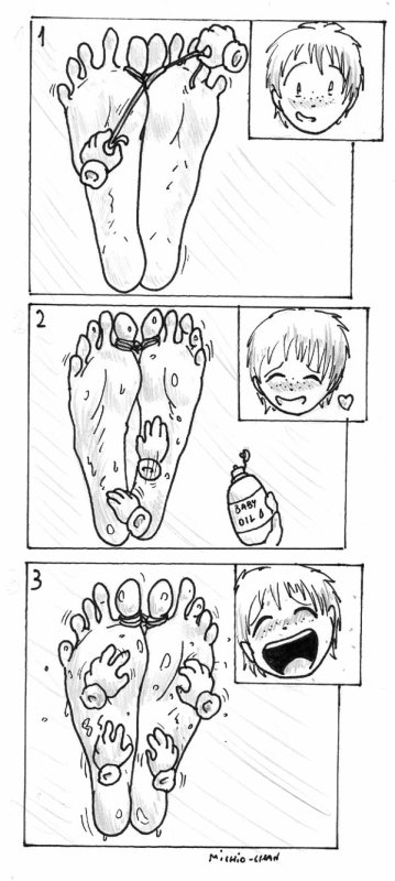 3 étapes d'une douce torture =D