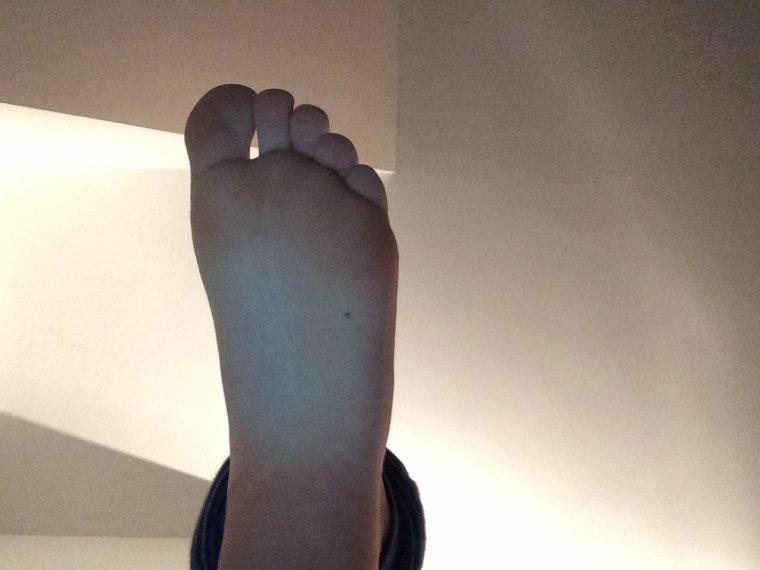 Les petits pieds de Gaby