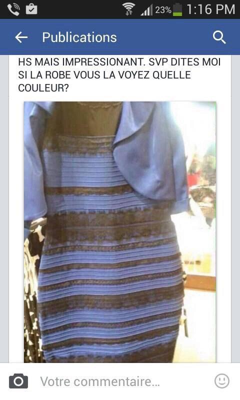 f82818e9ab1 La robe bleu qui change de couleur ...