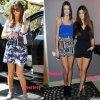 Tenues villes de soeurs Kardashian - Jenner