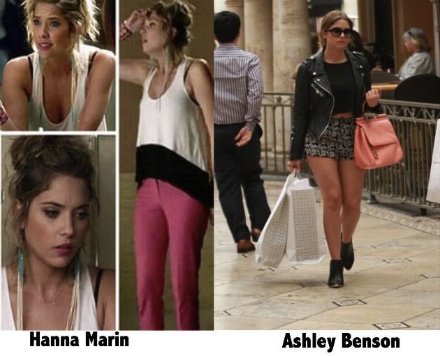Tenue Hanna Marin PLL / Ashley Benson