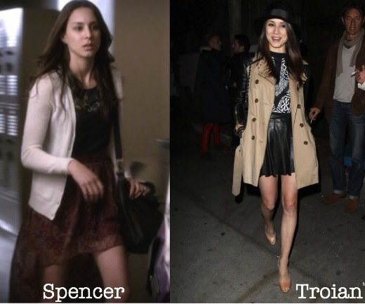 Spencer Hastings / Troian Belissario