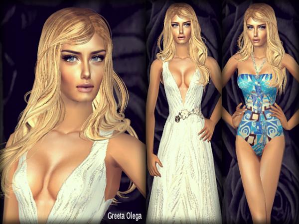 Miss Sims Univers 2013 Miss Estonie.