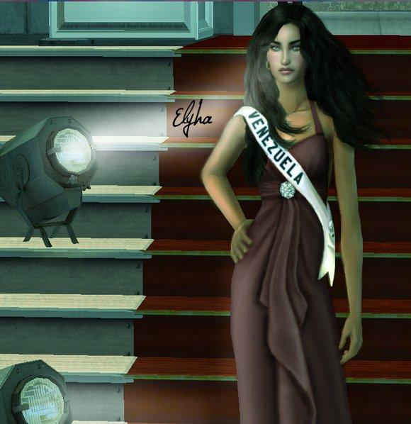 4ÈME DAUPHINE DE MSU 2013 Miss Vénézuela.