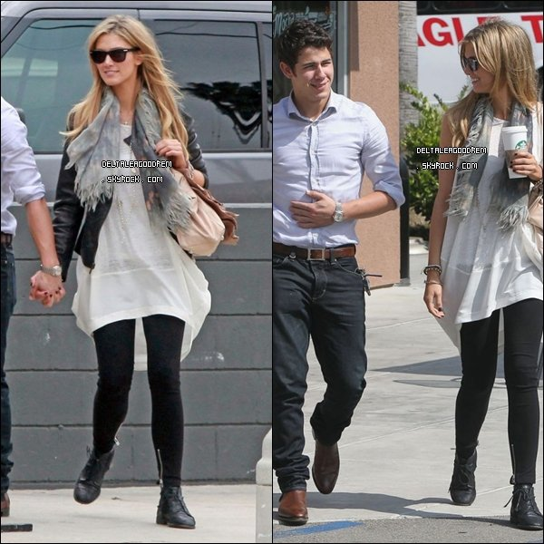 Le 13 juin Delta et Nick Jonas ont été vu sortant d'un magasin en Californie. TOP OU FLOP ?