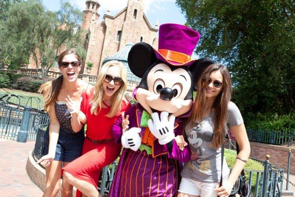 ♥ Ni' c'est rendu à Disney Land le 1er Septembre !