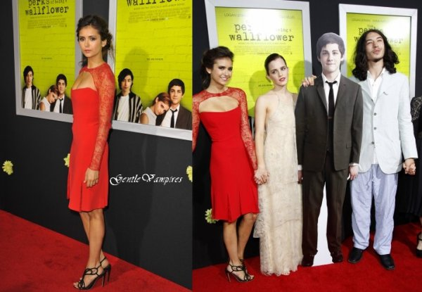 Nii presente le 10 septembre a l'avant premiere de sont film ! Plus photo promo de Vampire Diaries. Et photos twitter.