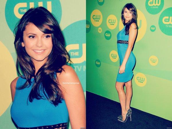 Notre Dobrev invité au mariage de ses amis, elle a poster des photos Twitter ! Nina Presente au CW Network's 2013 Upfront !