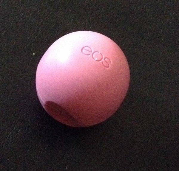 Découverte baume a lèvre EOS