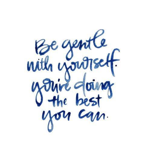 Ne sois pas juste bon pour les autres ; soit bon aussi avec toi-même.