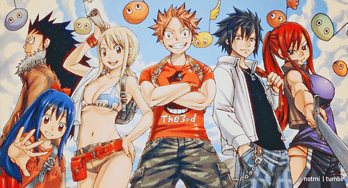 "Critique du manga/anime ""Fairy Tail"" !"