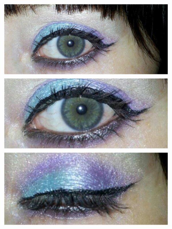 Bleu / violet