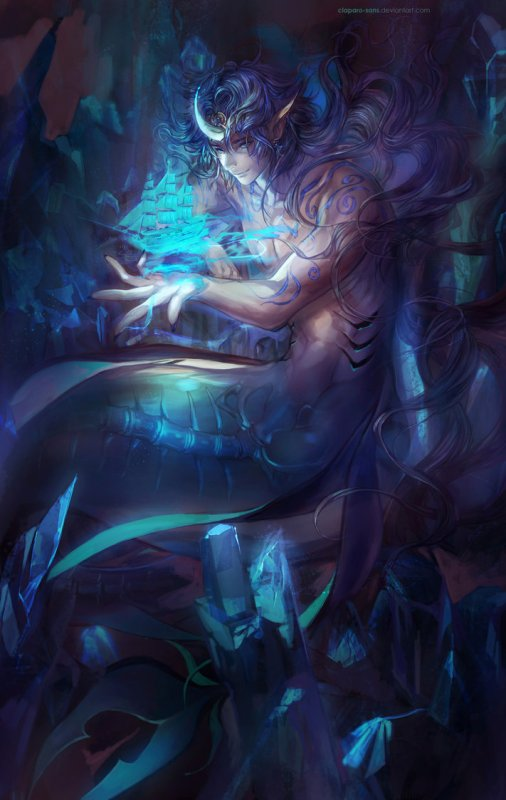Personnages commune Mermaid-OfYaoi