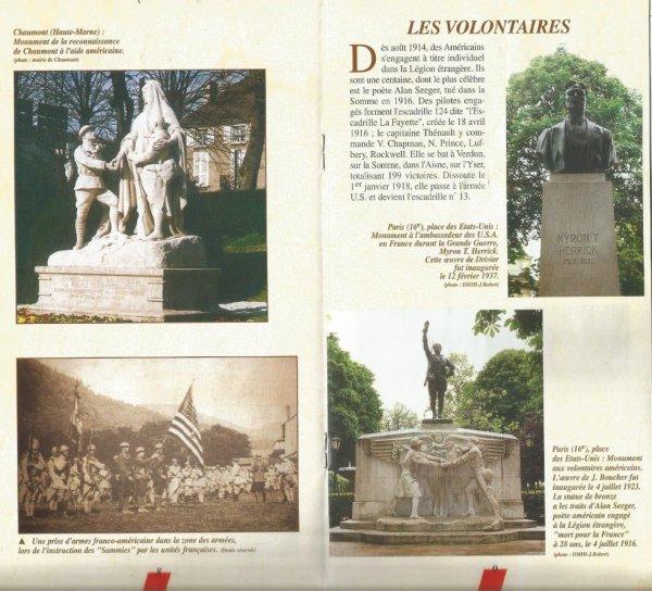 1917 LES AMERICAINS EN  FRANCE