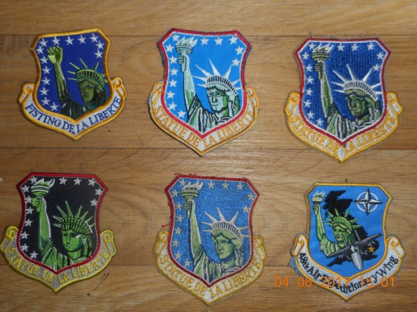 PATCH AMERICAIN 48th Fighter Wing