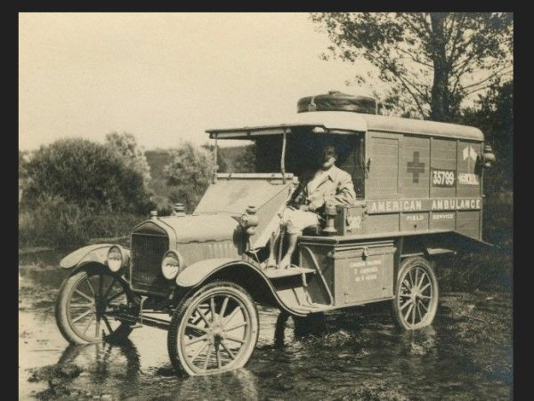 ambulance americain 1917