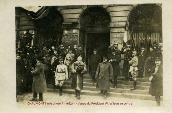 CHAUMONT 52 haute marn- Venue du Président W. Wilson