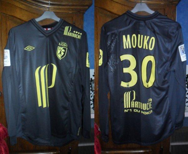 Le Maillot  Barel Mouko a Losc 2-0 Toulouse 11.12.2012 En Ligue 1