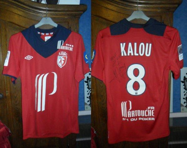 Le Maillot de Salomon Kalou   lille - Brest 10.11.2012 En Ligue 1
