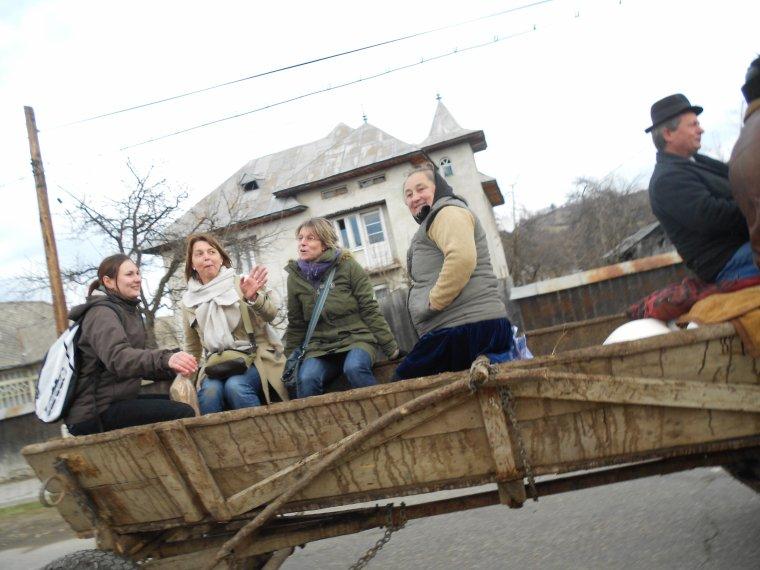 Toujours dans le village de BREB