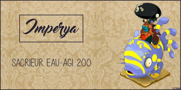 Imperya Sacrieur 200 Eau/Agi ♥
