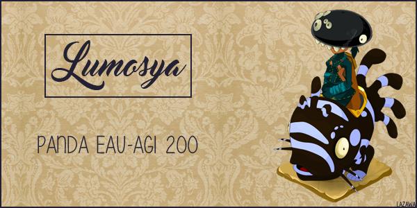 Lumosya, Panda 200 Eau/Agi ♥