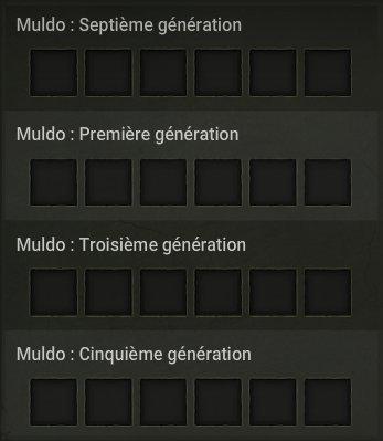 Tal kasha, succès, Muldo ! Restat !